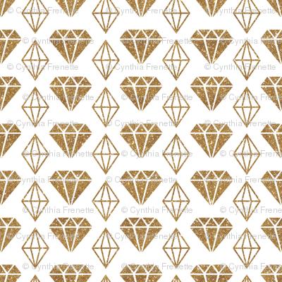 Sparkle Diamonds - Gold