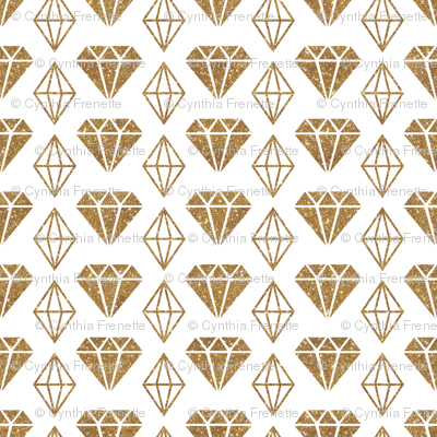 Sparkle Diamonds - Gold