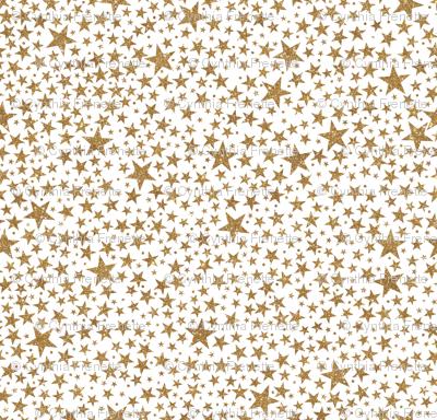 Glitter Stars, Gold