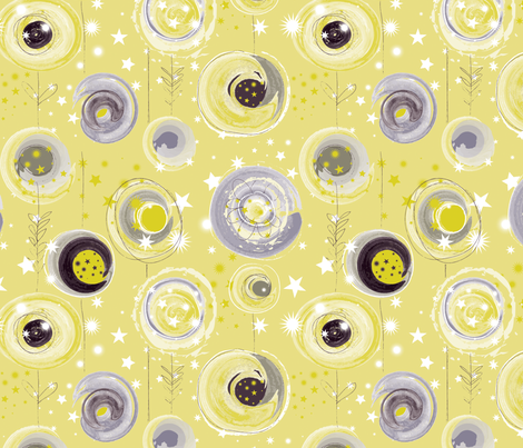 Solstice Garden fabric by nancierowejanitz on Spoonflower - custom fabric