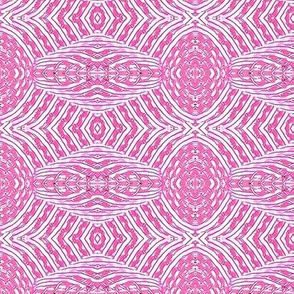 pink candy stripe flower
