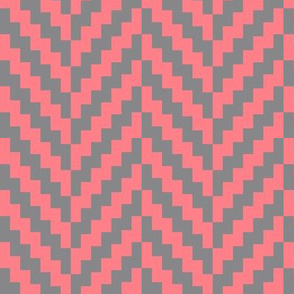 Aztec_Chevron_Coral_grey