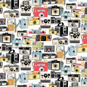 Make It Snappy! (Mini) || vintage camera illustrations analog photography film photo photographer