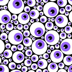 Eyeballs purple
