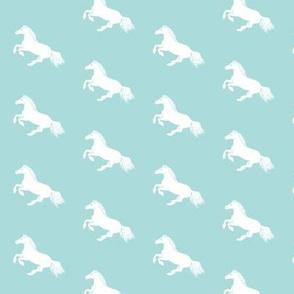 White Pony Sky Diagonal