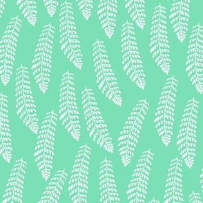 Fern in Minty Green