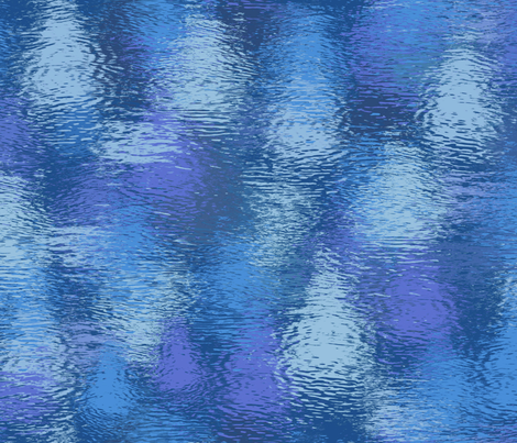 evening by the pond fabric by weavingmajor on Spoonflower - custom fabric