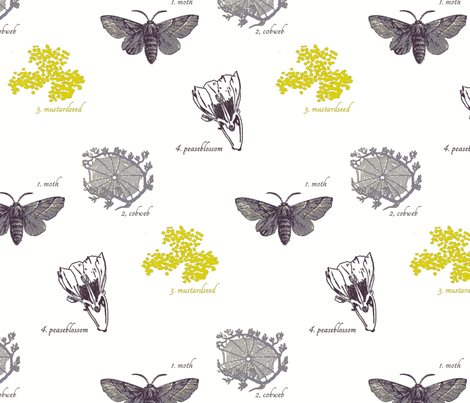 Whither Wander You?- fabric by aquoisepenguin on Spoonflower - custom fabric