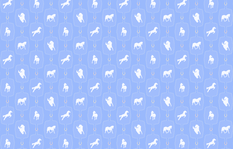 Horses fabric by verenaerin on Spoonflower - custom fabric