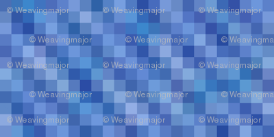 rippling blue squares