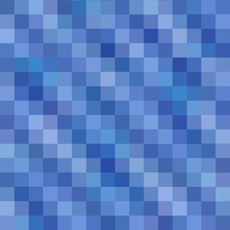 rippling blue squares fabric by weavingmajor on Spoonflower - custom fabric