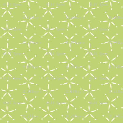 Stary - Green &  ivory