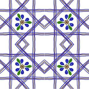 Dutch Floral Squares