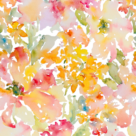 Dreamy Petals No2 fabric by susan_magdangal on Spoonflower - custom fabric
