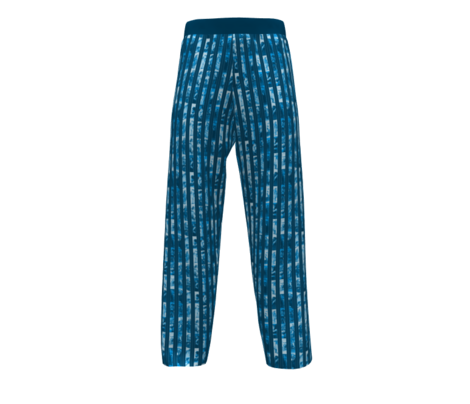 Victorian Men Pinstripe: Blue