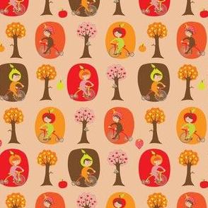 Tutti Frutti Biking Girls