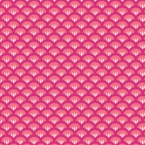 Suzy Woozy pinkpink fabric by jillbyers on Spoonflower - custom fabric