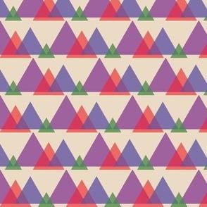 Pyramids (Tan Multi)