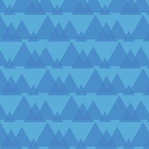Pyramids (Blue)