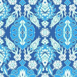 Tulip-Pomegranate blue