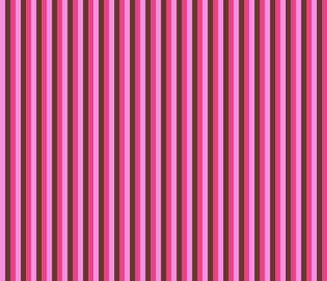 Hollyhock Stripes Coordinate fabric by anniedeb on Spoonflower - custom fabric