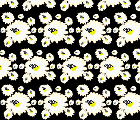 Black Butterfly  fabric by marchhare on Spoonflower - custom fabric