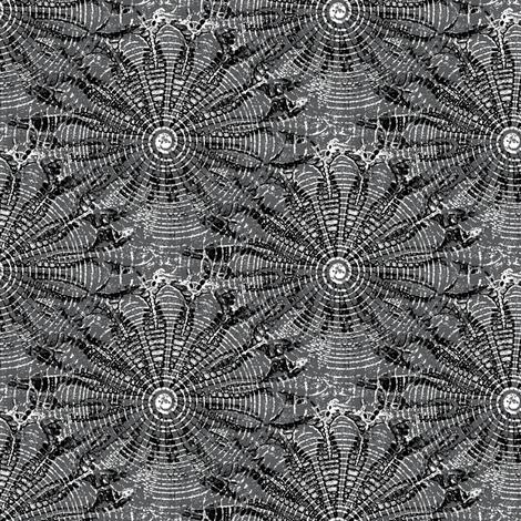 black star line fabric by nalo_hopkinson on Spoonflower - custom fabric