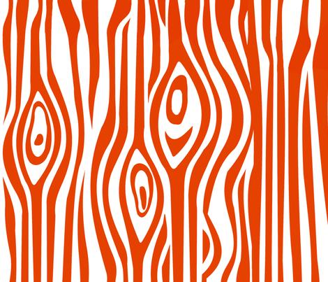 Mod Grain - Orange fabric by thirdhalfstudios on Spoonflower - custom fabric