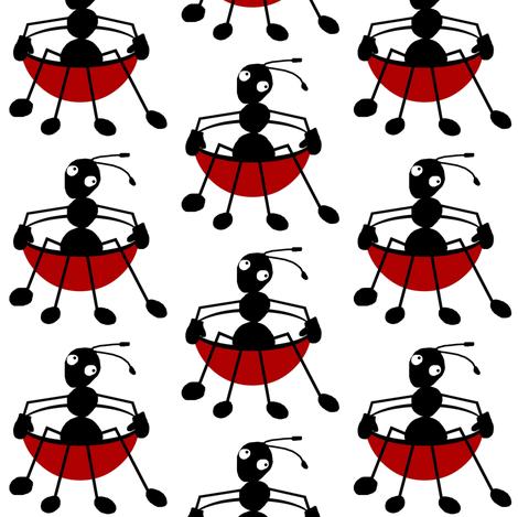 Antics spinning fabric by paragonstudios on Spoonflower - custom fabric
