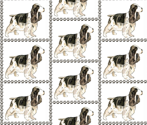 english_cocker fabric by dogdaze_ on Spoonflower - custom fabric