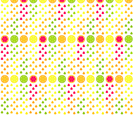 Citrus Squeeze fabric by modgeek on Spoonflower - custom fabric