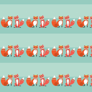 august-desktop-calendar-wallpaper-background-illustrated-foxes