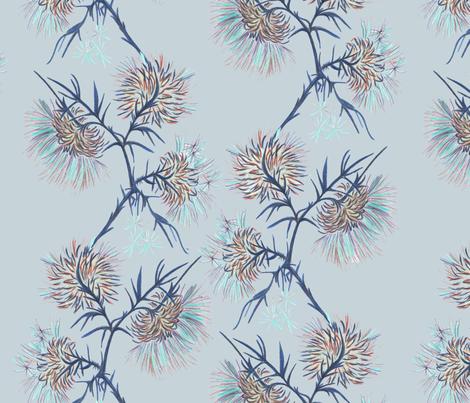 Carduus_copyright_Ballistic_Owl_june_2013 fabric by ballistic_owl on Spoonflower - custom fabric