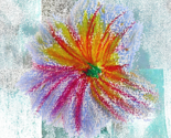 Flower_drawing_on_grungy_background_thumb