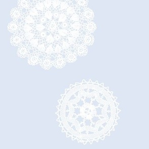 Shabby Chic Doilies - Water