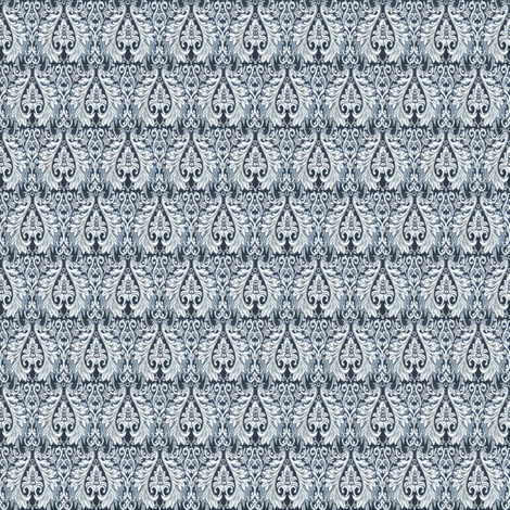 Aces Blue fabric by amyvail on Spoonflower - custom fabric