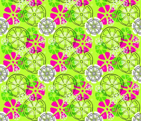 Citrus Toss fabric by terri_stegmiller on Spoonflower - custom fabric