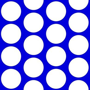 Big Dot on Blue