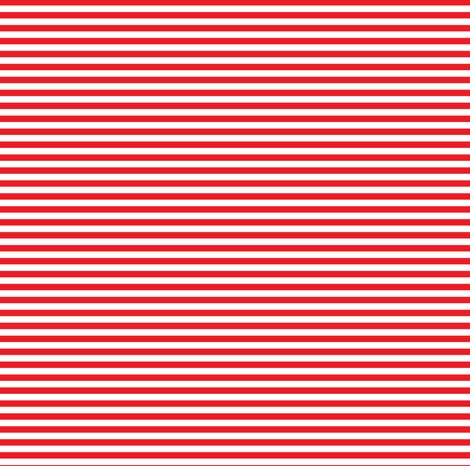 Red Stripe 7 Thin fabric by americanmom on Spoonflower - custom fabric