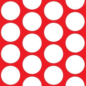 Big Dot on Red