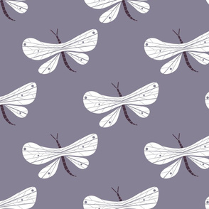 Dragonfly lilac
