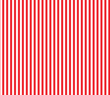 Red Stripe 4 Medium fabric by americanmom on Spoonflower - custom fabric