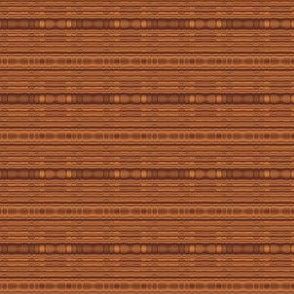 Beaded Look Brown Stripe Horizontal