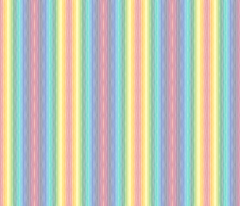 Rainbowstripes fabric by luvinewe on Spoonflower - custom fabric