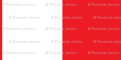 Red Stripe 3 Wide