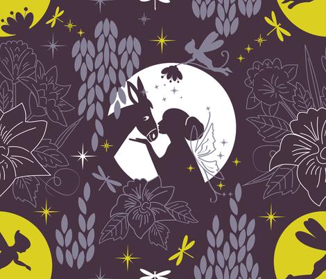 dreamy midsummernight fabric by lilliblomma on Spoonflower - custom fabric