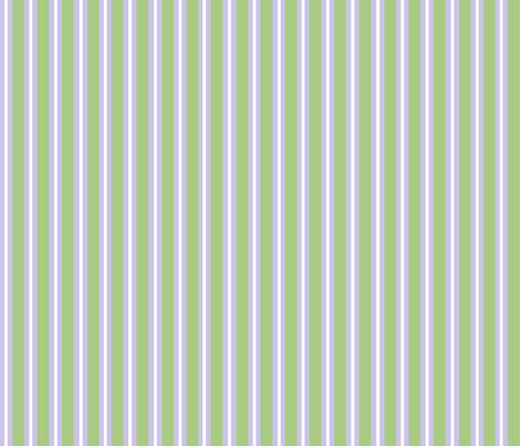 iris_contrast_green_and_blue_stripe_ fabric by tangledvinestudio on Spoonflower - custom fabric