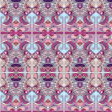 Waiting For the Calliope to Start Playing fabric by edsel2084 on Spoonflower - custom fabric