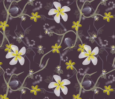 A Midsummer Night's Dream fabric by nakina on Spoonflower - custom fabric