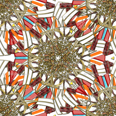 Kaleidoscope Jewels and Gold